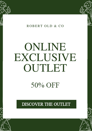 Explore the Robert Old Outlet with discounts of 50%