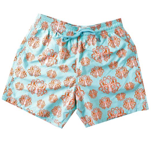 Lagoon 'Poulpes' Moorea Swim Shorts