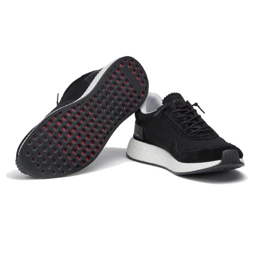 Black TECHMERINO™ Piuma Sneakers