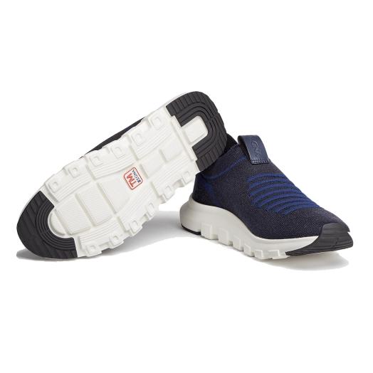 Navy TECHMERINO™ Sock 2.0 Sneakers
