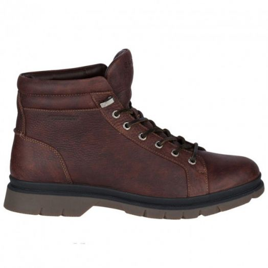 Men's Dark Brown Watertown Leather Boots