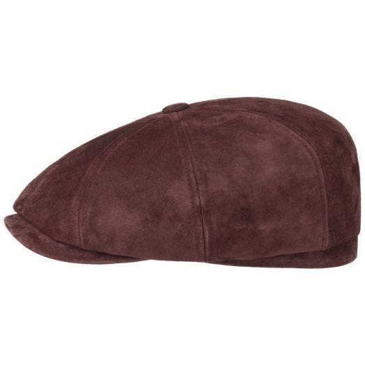 Bordeaux Hatteras Nubuck Pigskin Cap