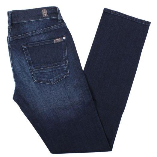 Dark Blue Luxe Performance Slimmy Jeans