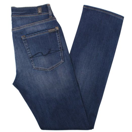 Mid Blue Luxe Performance Plus+ Slimmy Jeans