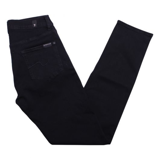 Black Luxe Performance Plus Slimmy Tapered Jeans