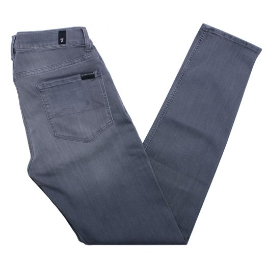 Grey Luxe Performance Plus Slimmy Tapered Jeans
