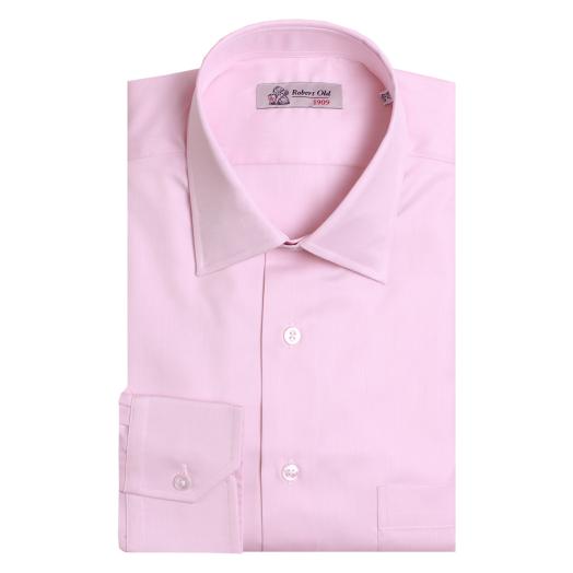 Pink Twill Swiss Cotton Shirt