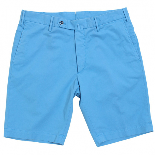 Azure Blue Chino Shorts
