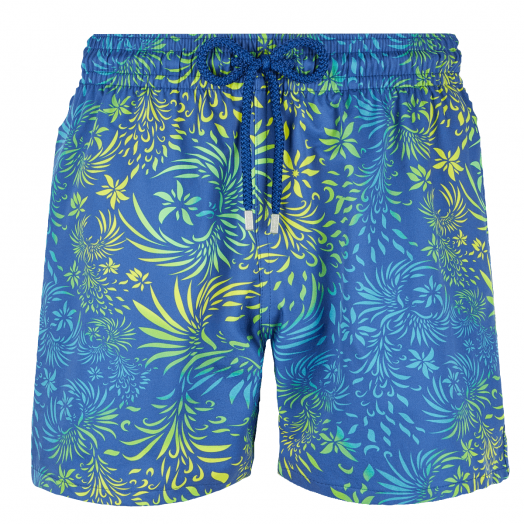 Batik Blue 'Evening Birds' Moorise Swim Shorts
