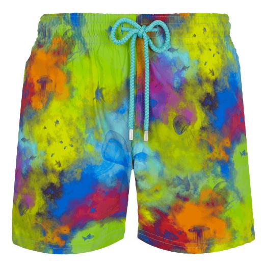 Batik Blue 'Holi Party' Moorise Swim Shorts