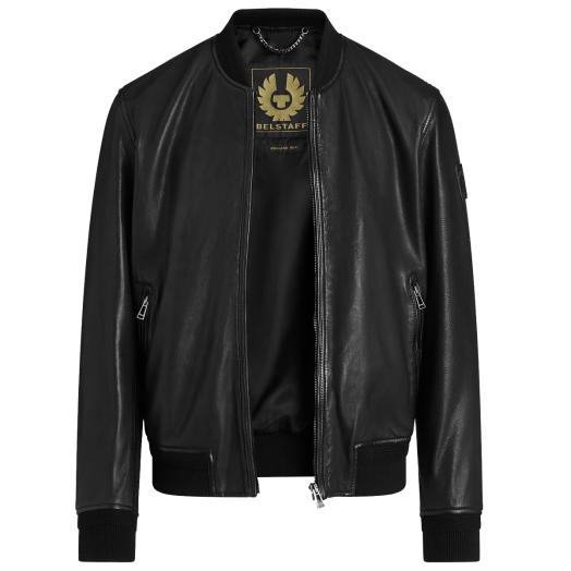 Black Bayling Leather Jacket