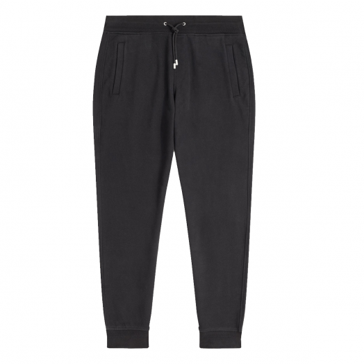 Black 'Belstaff' Jersey Cotton Sweatpants