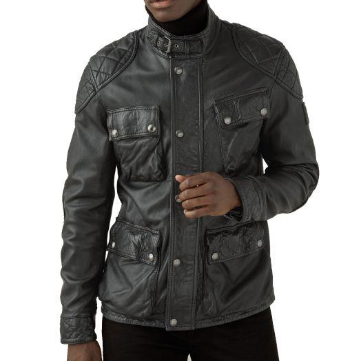 Black Fieldbrook 2.0 Leather Jacket