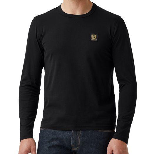 Black Long Sleeved Logo T-Shirt