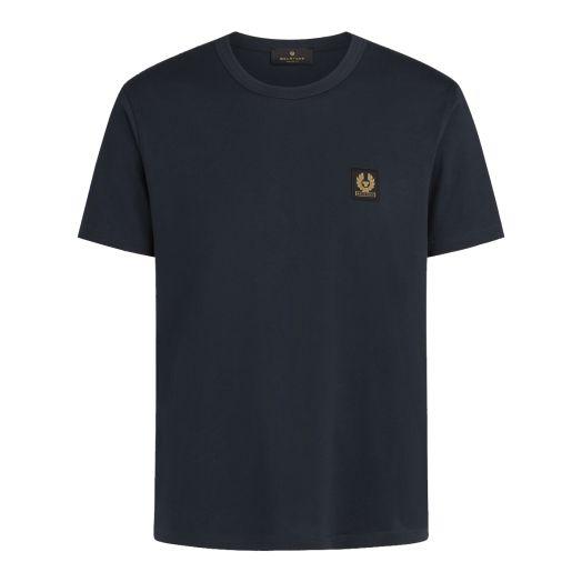 Dark Ink Jersey Cotton Logo T-Shirt