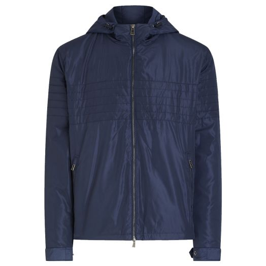 Dark Navy Roam Windbreaker Jacket