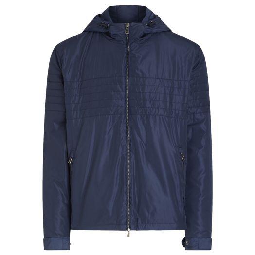 Dark Navy Roam Windbreaker Jacket