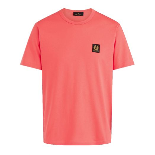 Flare Pink Jersey Cotton Logo T-Shirt