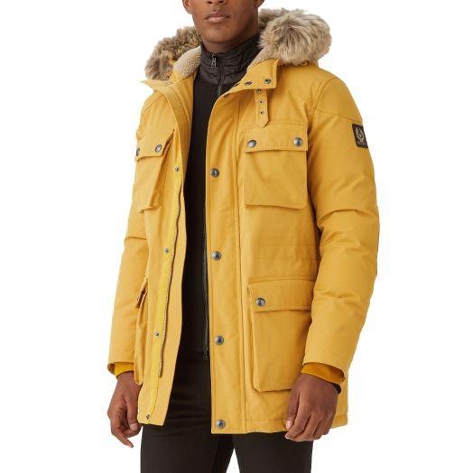 Harvest Gold Pathmaster 750-Fill Parka Coat