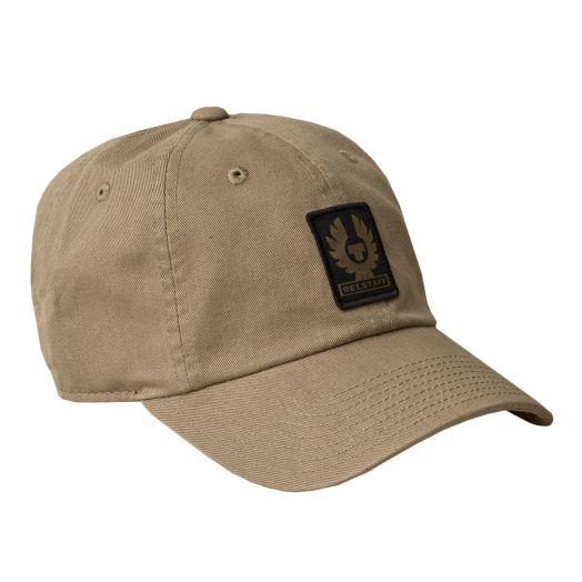Khaki Phoenix Logo Cotton Twill Baseball Cap