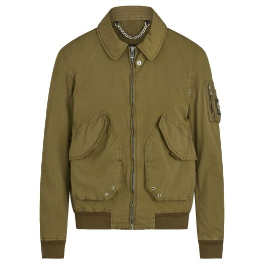 Military Olive Propeller MA2 Bomber Jacket