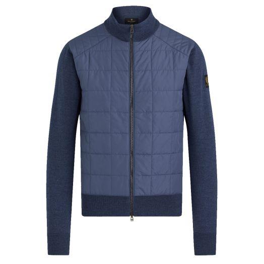 Racing Blue New Kelby Zip Wool Cardigan