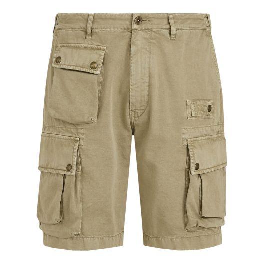 Tarp Khaki Castmaster Cotton Cargo Shorts