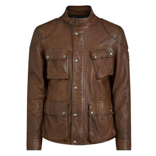 Walnut Fieldbrook 2.0 Leather Jacket