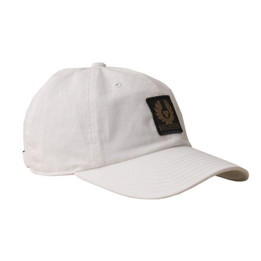 White Phoenix Logo Cotton Twill Baseball Cap