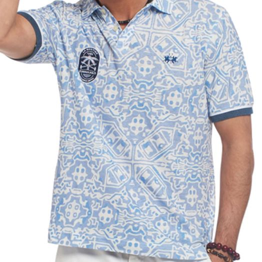 All Over Print Ronnie Regular Fit Polo Shirt