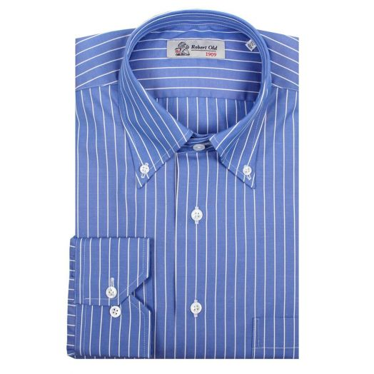 Blue Stripe Premium Cotton Shirt