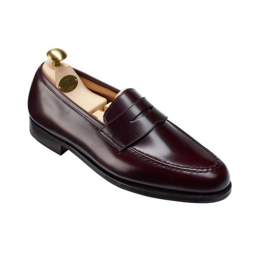 Boston Calf Leather Penny Loafer