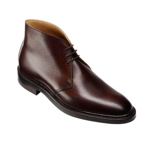 Brecon Dark Brown Country Grain Boots