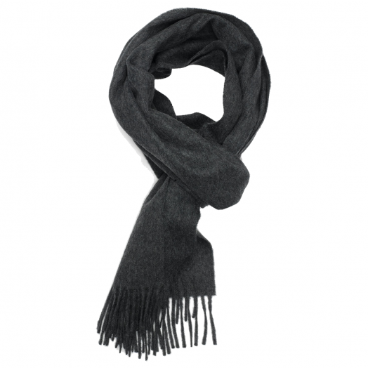 Charcoal Classic Cashmere Scarf