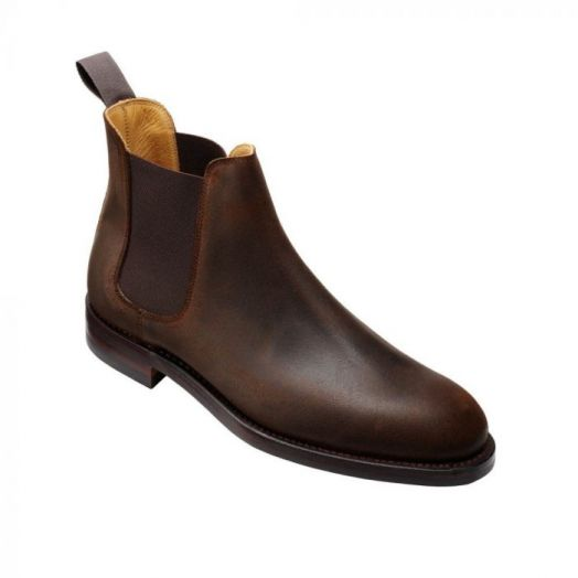 Chelsea V Rough-Out Suede Boots
