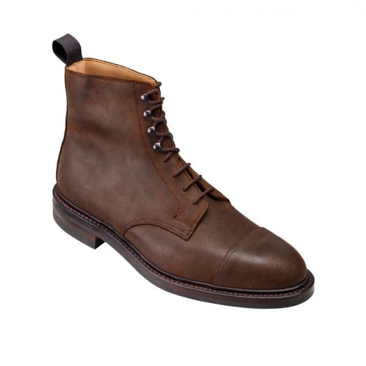 Coniston Dark Brown Rough-Out Suede Boots