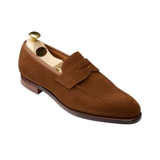 Sydney Snuff Suede Loafers