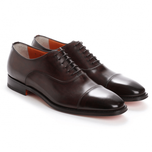 Dark Brown Lace Up Handmade Oxford Shoe