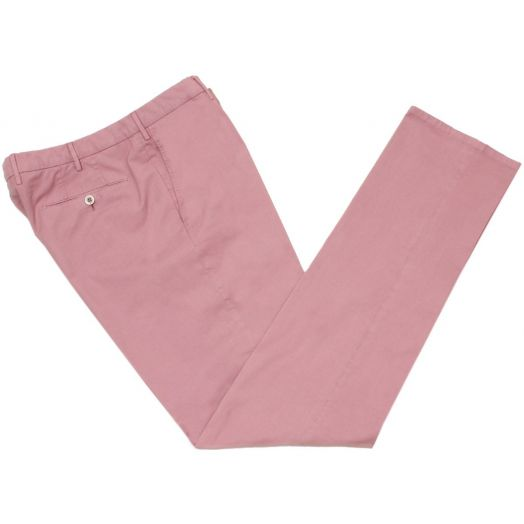 Dusty Pink Stretch Regular Cotton Chino