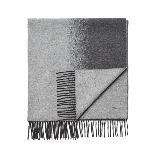 Grey Degradè 100% Pure Silk Scarf