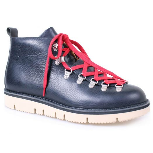 Navy Handmade Heritage Hiking Boot