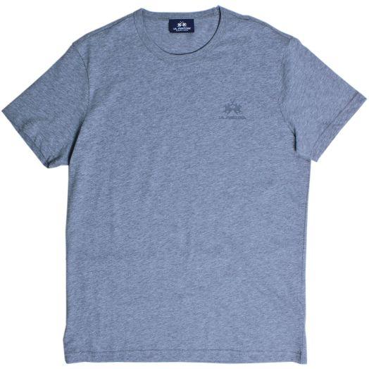 Heather Grey Cotton Jersey T-Shirt