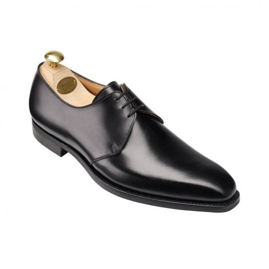 Highbury Black Calf Derby Shoes