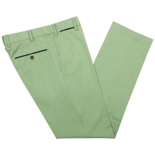 Avocado Cotton Chino Trousers