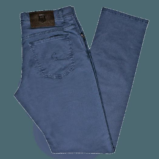 Light Blue ID Cotton Jeans