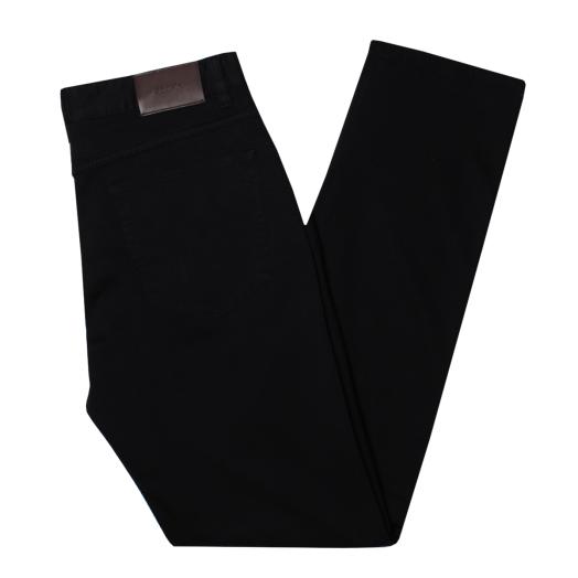Navy Slim Fit Stretch Cotton Jeans