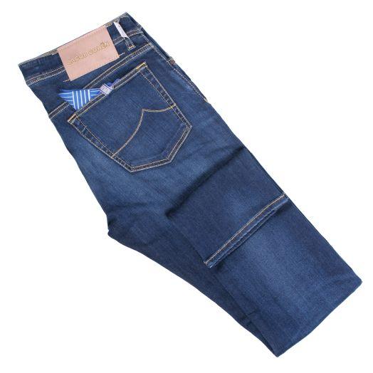 Dark Blue 'Bard – J688' Slim Fit Jeans