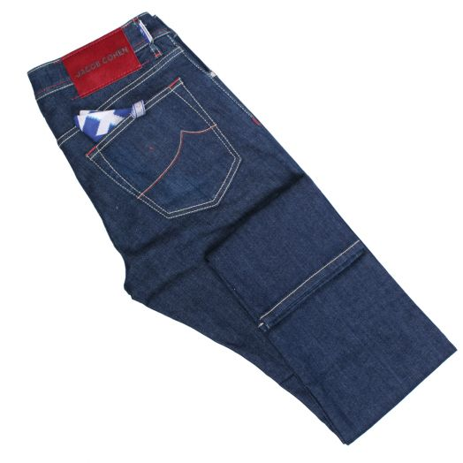 Indigo Wash 'Nick – J622' Low Rise Slim Fit Jeans