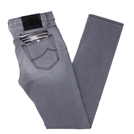 Grey J622 Low Rise Slim Fit Jeans