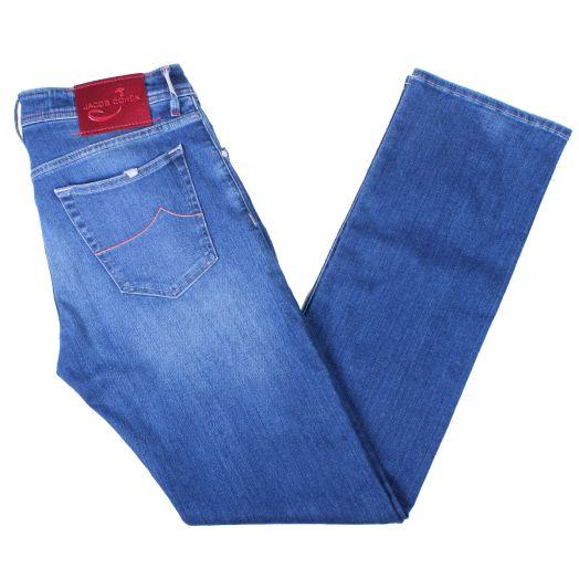 Medium Blue J620 Straight Leg Stretch Jeans